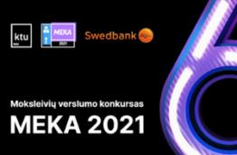 """Įsibėgėja moksleivių verslumo konkursas """"MEKA 2021"""""""